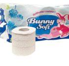Papier toaletowy biały Bunny Soft