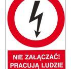 ZNAK BEZPIECZEŃSTWA Z-2EZA