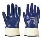 Rękawice powleczone nitrylem z bezpiecznym mankietem – A302 PORTWEST